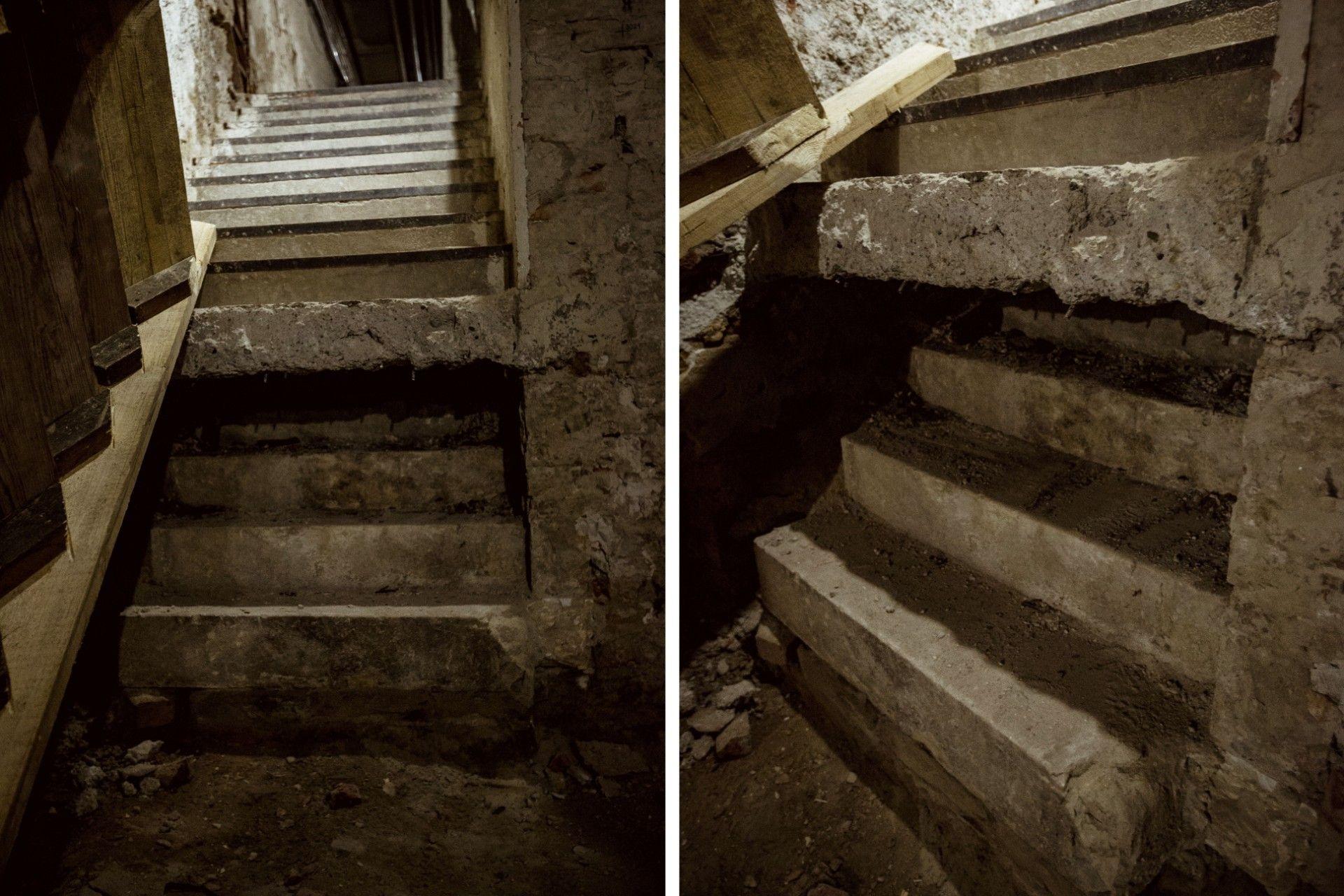 járva a lépcsőn a visszérről)