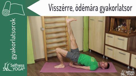 feküdjön fejjel lefelé visszerekkel)