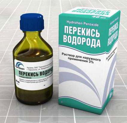 hidrogén-peroxid kezelése visszerek esetén