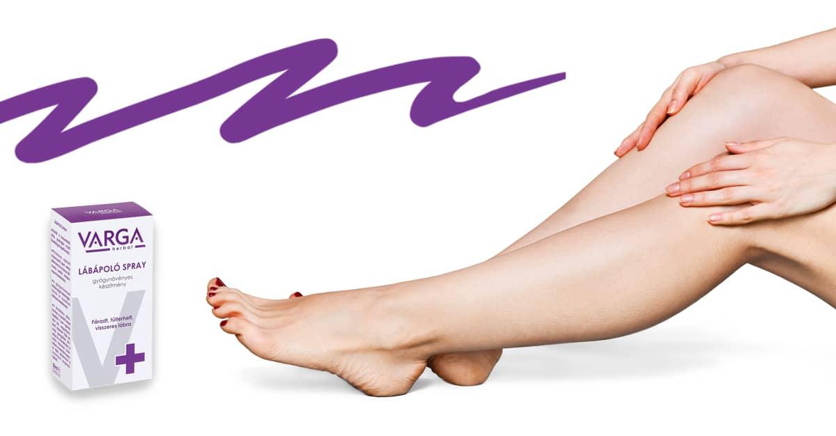 termékek visszér a lábakon)