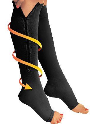 Hogyan válasszuk ki és viseljen ortopéd zokni visszerek