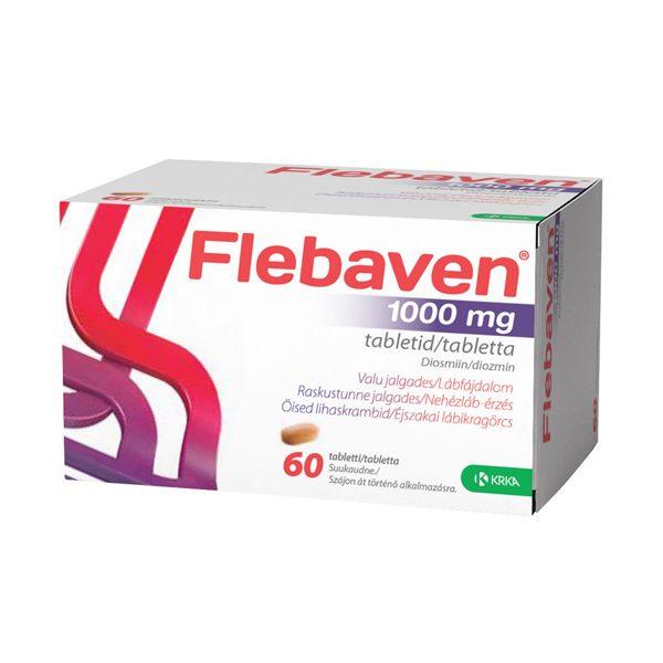 Flebaven 1000mg tabletta 60X