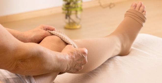Orvosi kompressziós harisnya 2 osztályú tömörítés férfiaknak