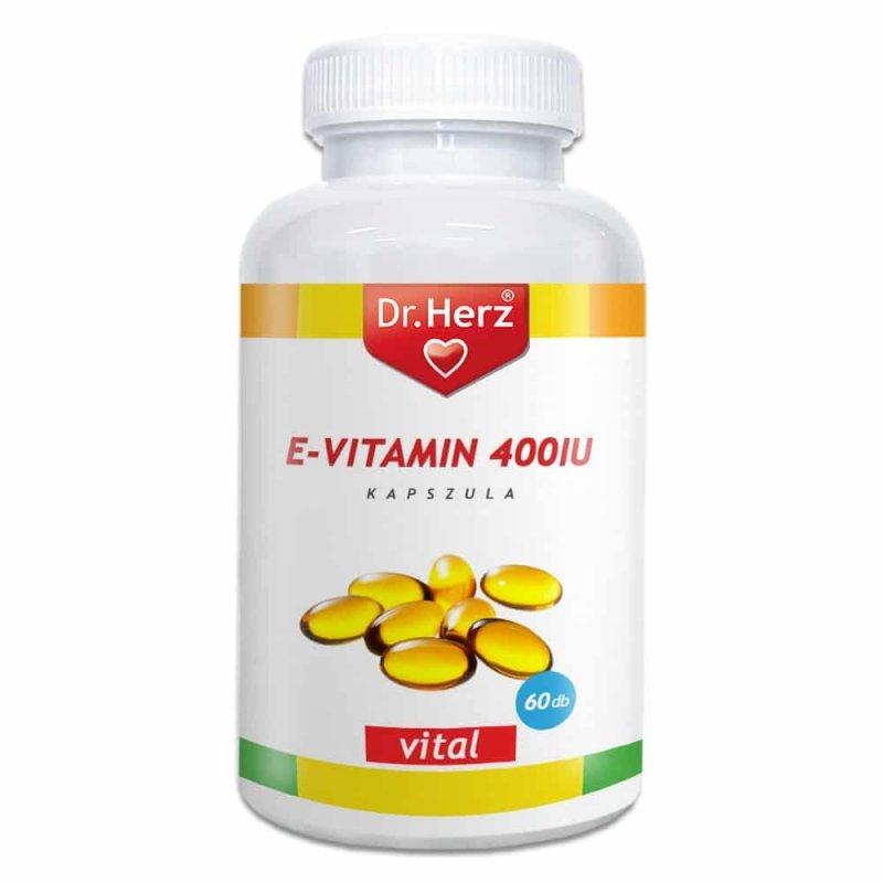 e-vitamin kapszula és visszér)