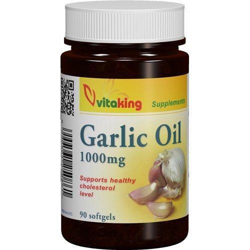 Vitaking fokhagymaolaj kapszula - 90db - VitaminNagyker webáruház