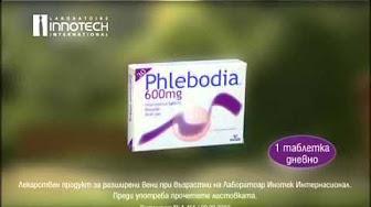 phlebodia 600 visszérrel oszteopata a visszérről