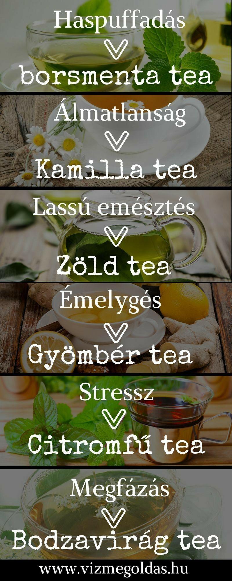 milyen teát ihat visszerekkel