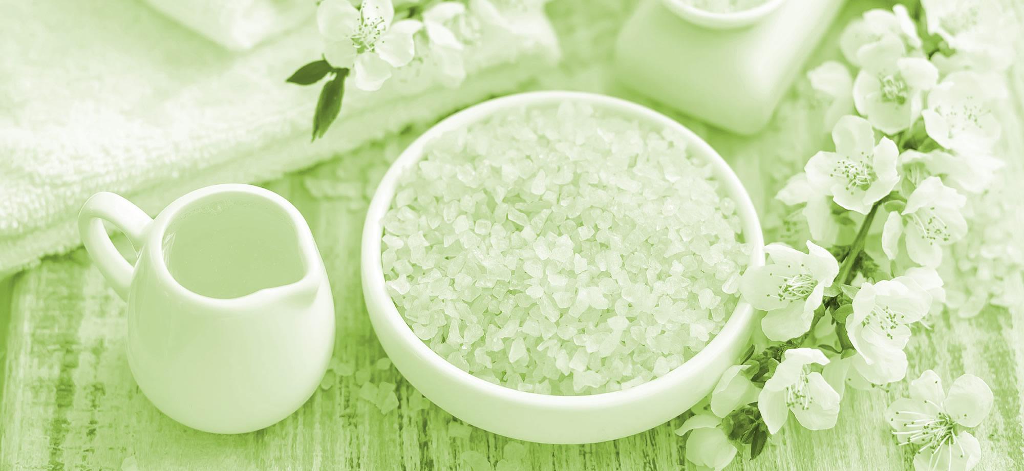 kezelje a visszértágulatot sóval