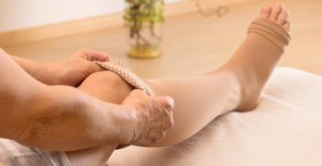 kompressziós térd zokni visszerek esetén mennyit kell viselni visszér nyalás