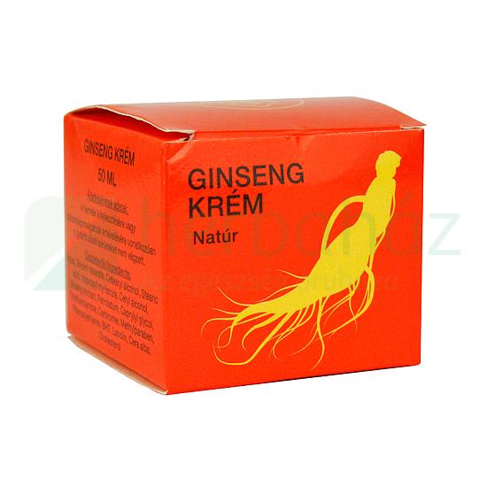 ginseng tinktúrája visszér ellen)