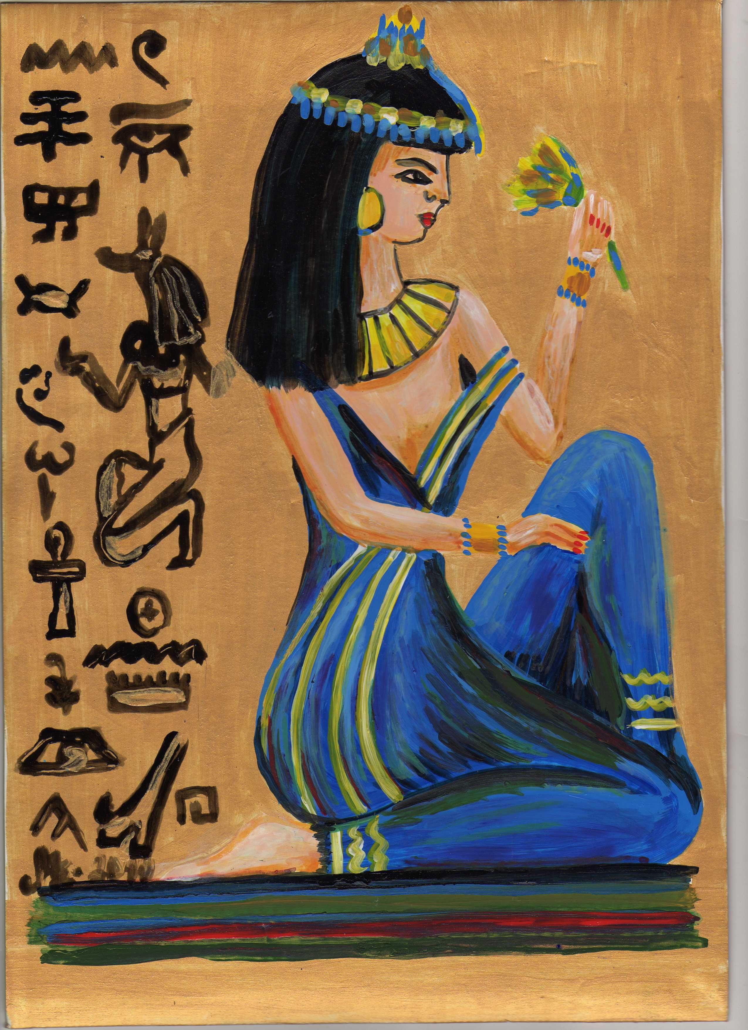 visszeres olajjal Egyiptomból
