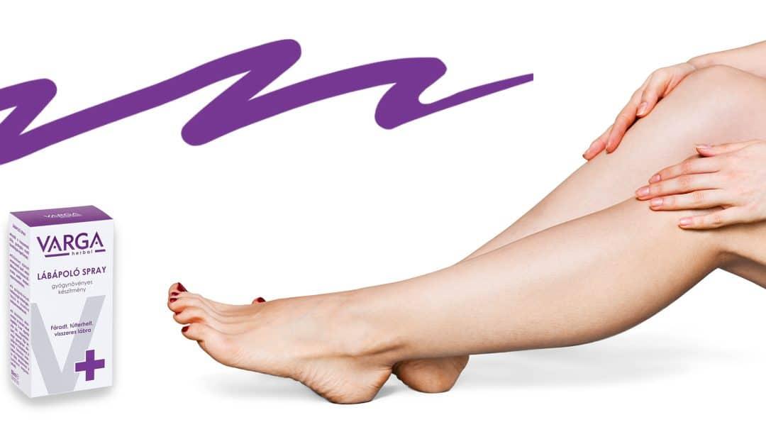termékek a visszerek a lábakon