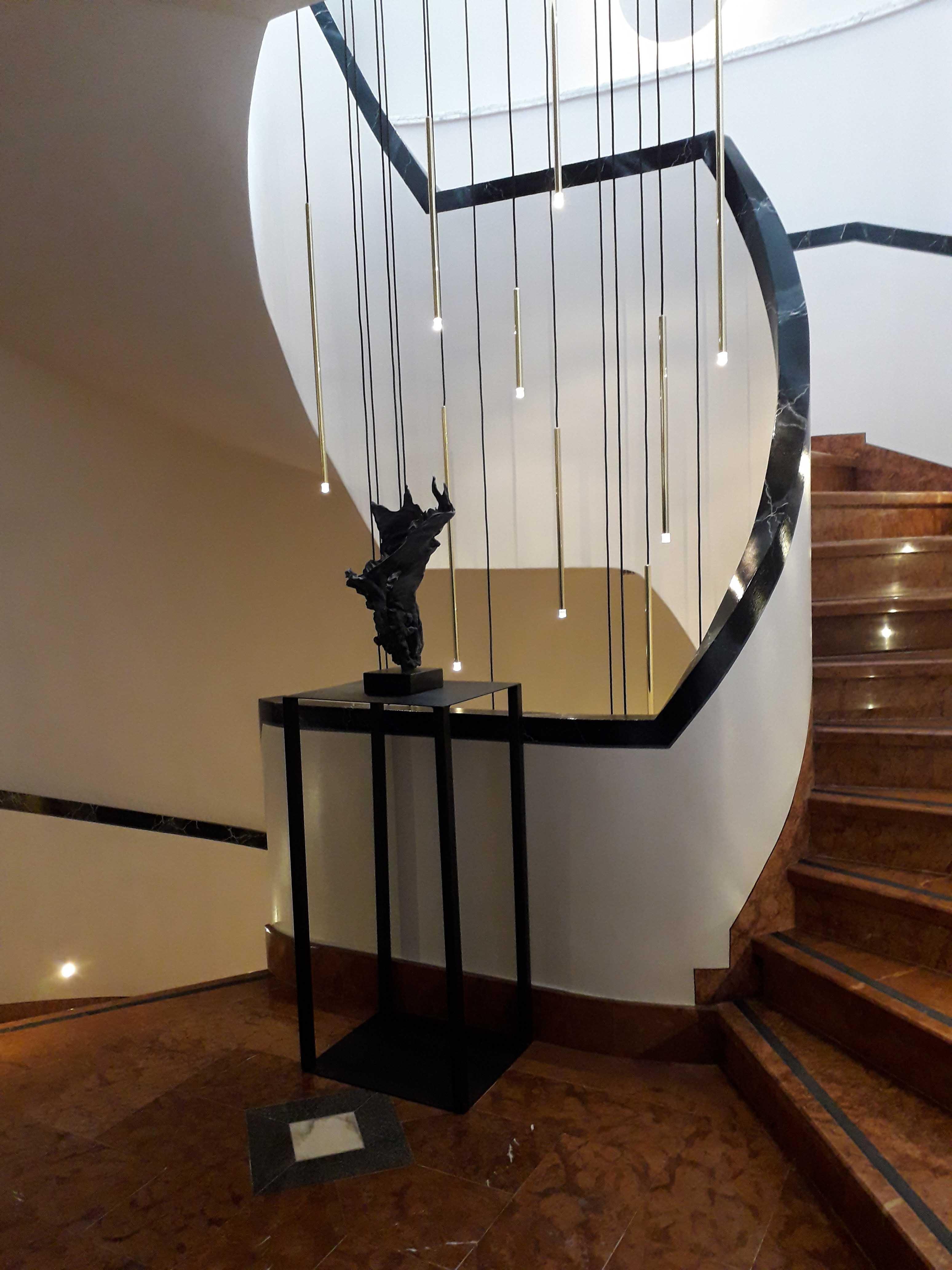 járva a lépcsőn a visszérről