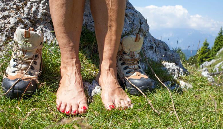mint a visszeres lábak